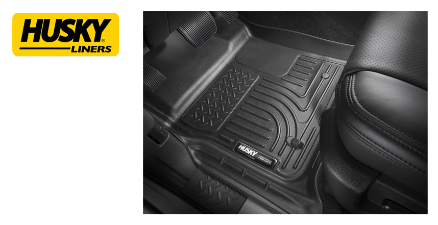 Husky® Weatherbeater™ Floor Liners from Northwest Auto Accessories