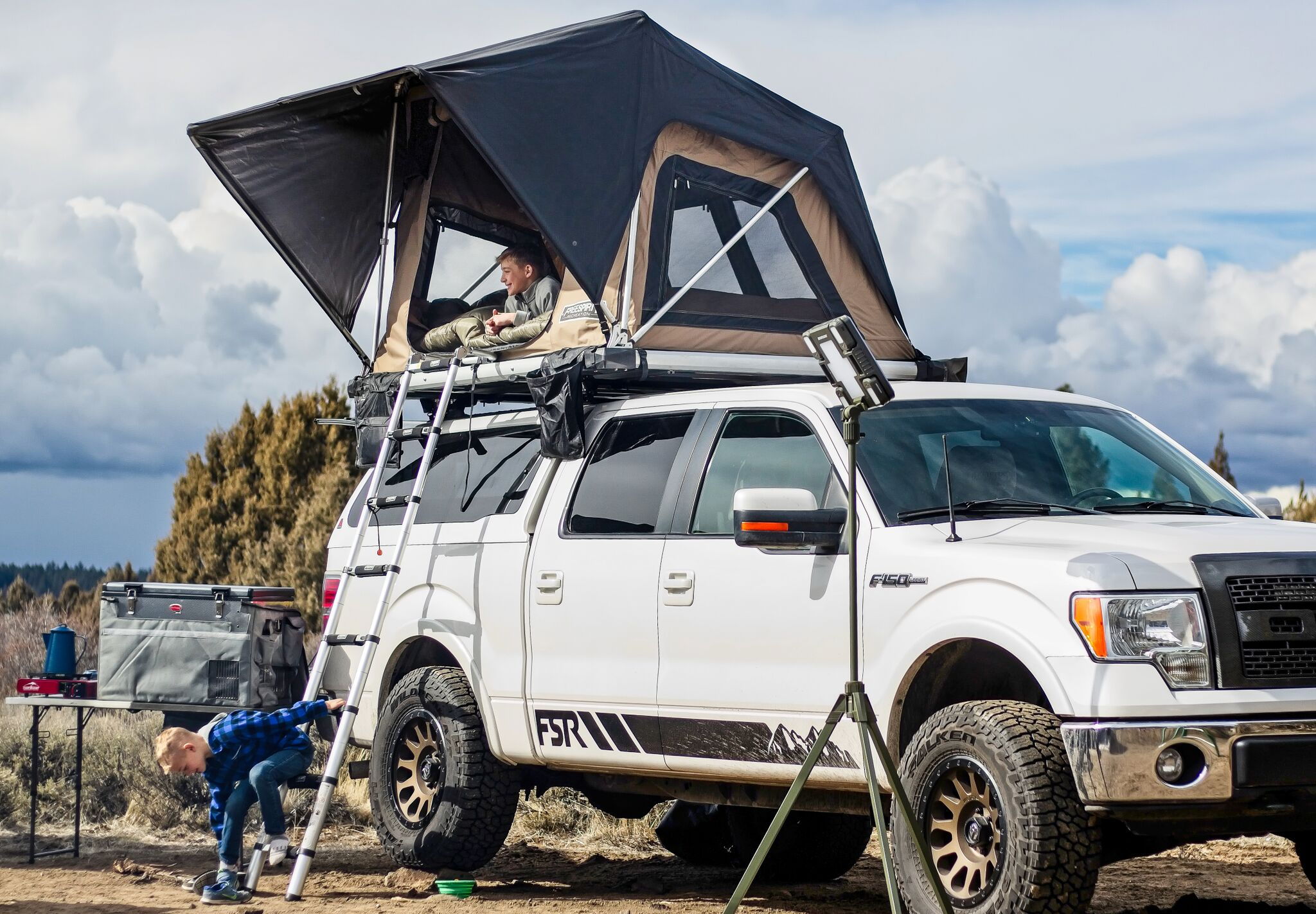 Roof top tents from Northwest Auto Accessories