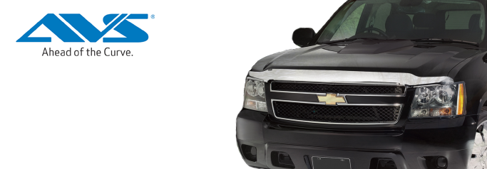 AVS Chrome Hood Protector from Northwest Auto Accessories